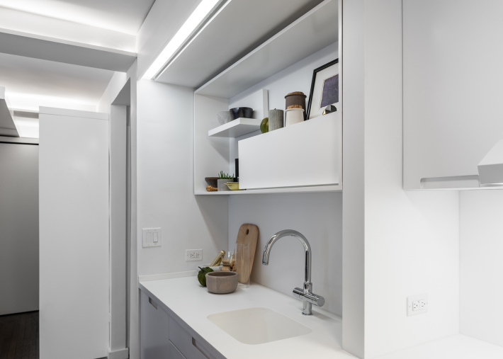 adelaparvu.com despre garsoniera 36 mp cu perete culisant, 5to1 apartment, design MKCA (10)