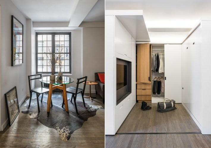 adelaparvu.com despre garsoniera 36 mp cu perete culisant, 5to1 apartment, design MKCA (13)