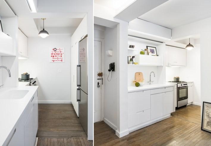 adelaparvu.com despre garsoniera 36 mp cu perete culisant, 5to1 apartment, design MKCA (15)