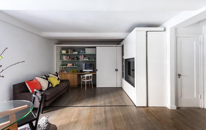 adelaparvu.com despre garsoniera 36 mp cu perete culisant, 5to1 apartment, design MKCA (5)