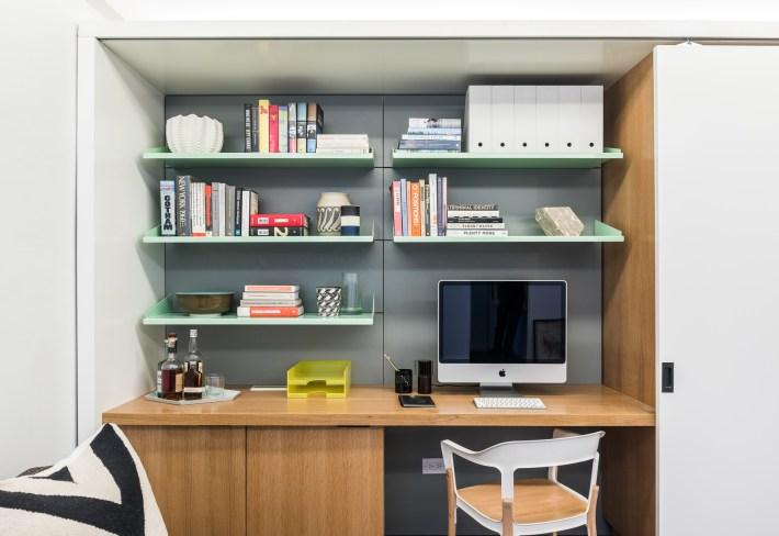 adelaparvu.com despre garsoniera 36 mp cu perete culisant, 5to1 apartment, design MKCA (8)
