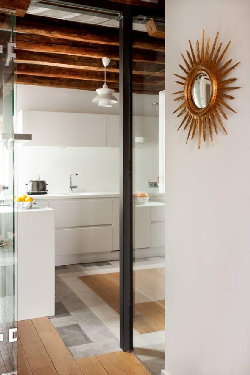 adelaparvu.com despre locuinta la mansarda cu camere mici, design interior P.Apls Arquitectos, Foto ElMuelbe (4)