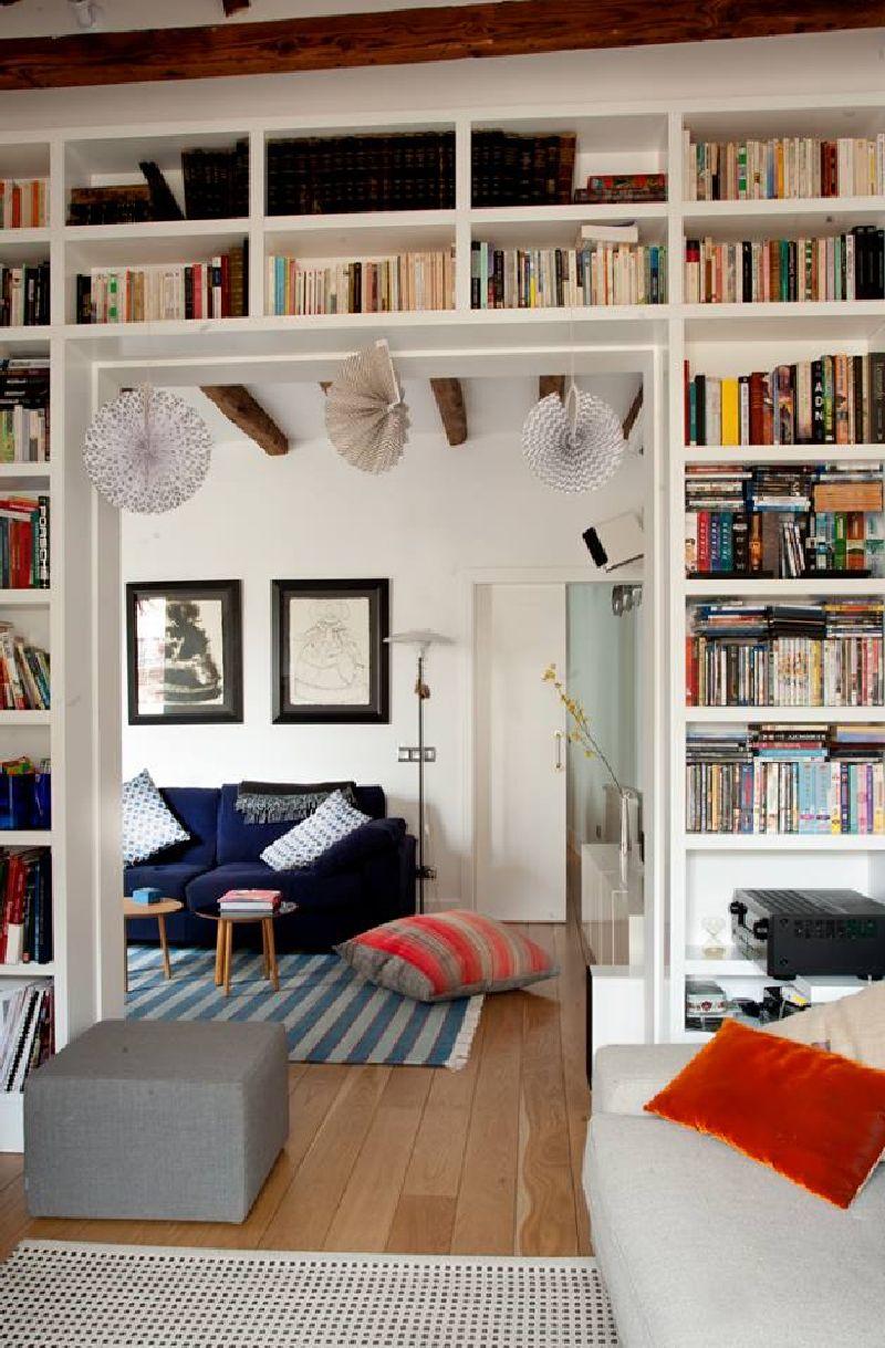 adelaparvu.com despre locuinta la mansarda cu camere mici, design interior P.Apls Arquitectos, Foto ElMuelbe (6)