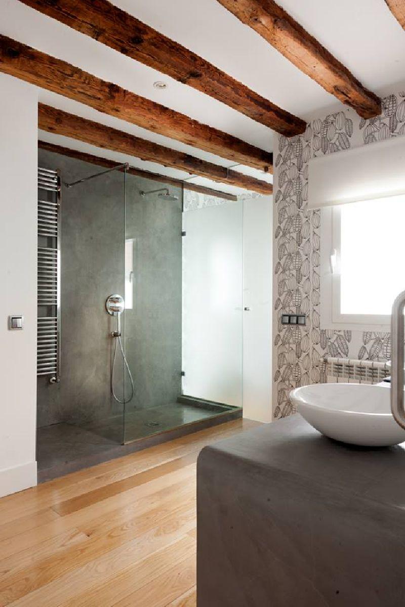 adelaparvu.com despre locuinta la mansarda cu camere mici, design interior P.Apls Arquitectos, Foto ElMuelbe (7)