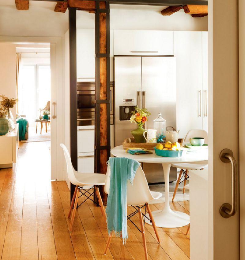 adelaparvu.com despre locuinta la mansarda cu camere mici, design interior P.Apls Arquitectos, Foto ElMuelbe (9)
