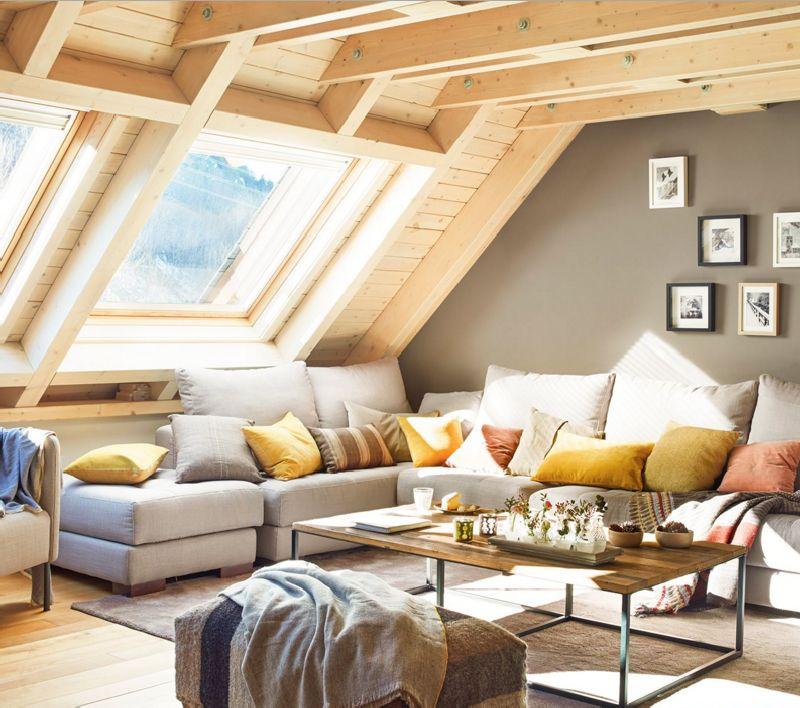 adelaparvu.com despre mansarda din lemn modern amenajata, design interior Carolina Juanes, Foto ElMueble (1)