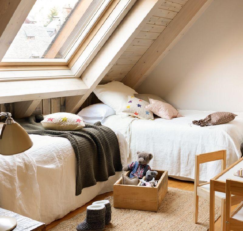 adelaparvu.com despre mansarda din lemn modern amenajata, design interior Carolina Juanes, Foto ElMueble (8)