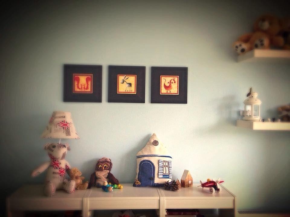 adelaparvu.com despre perne in forma de case, designer arh.Ioana Zdralea, model Perina Ardeal - little boy room