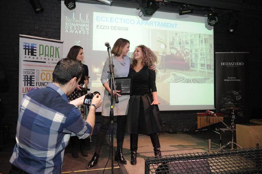 adelaparvu.com despre premiile Elle Decoration 2015, Adela Parvu pentru decernarea premiului echipei Ezzo Design