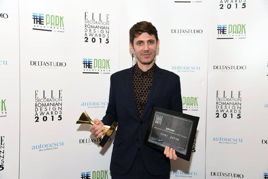 adelaparvu.com despre premiile Elle Decoration 2015, designerul Mihai Grama