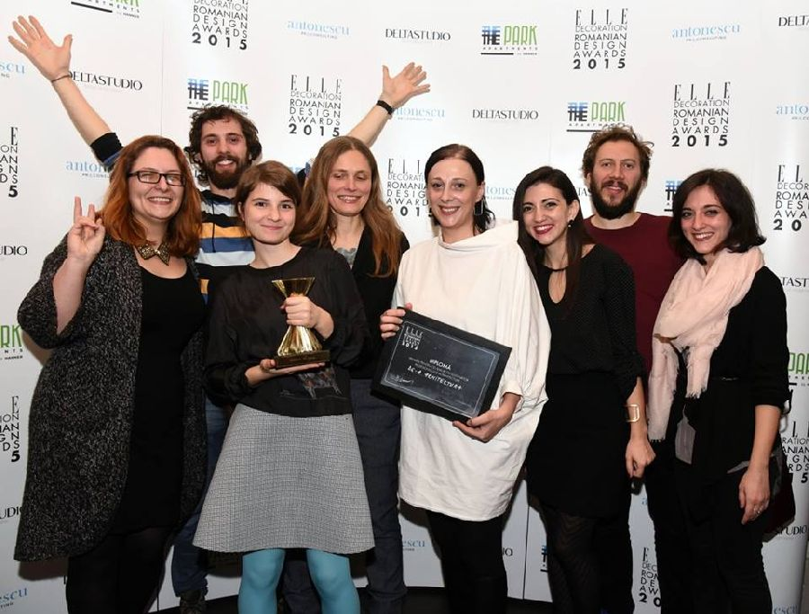 adelaparvu.com despre premiile Elle Decoration 2015, echipa De-a arhitectura