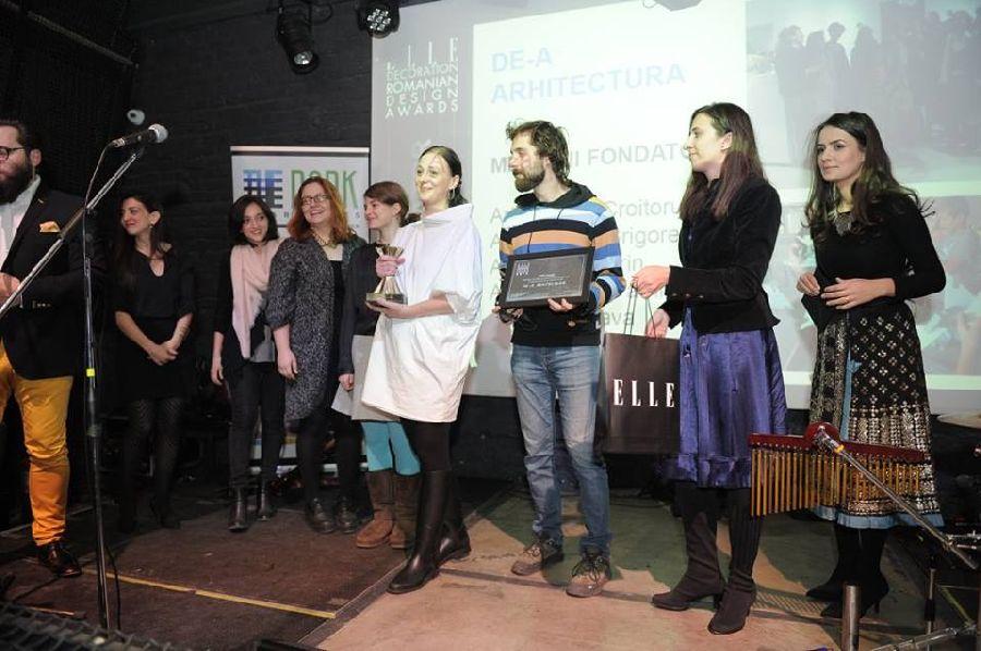 adelaparvu.com despre premiile Elle Decoration 2015, pe scena echipa De-a Arhitectura