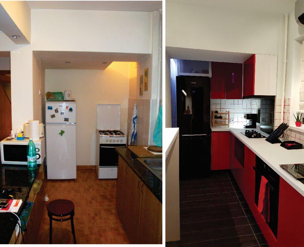 adelaparvu.com despre renovare apartament 2 camere Bucuresti, arh Andreea Besliu (14)