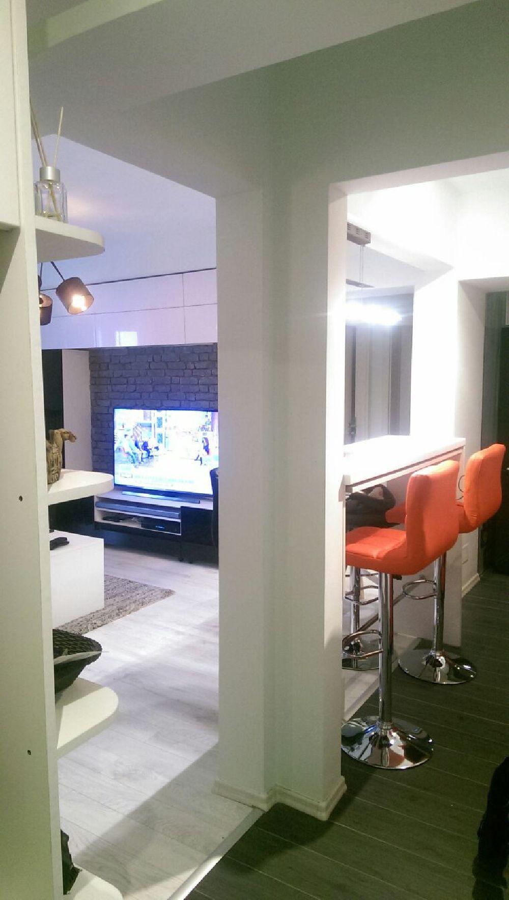 adelaparvu.com despre renovare apartament 2 camere Bucuresti, arh Andreea Besliu (22)