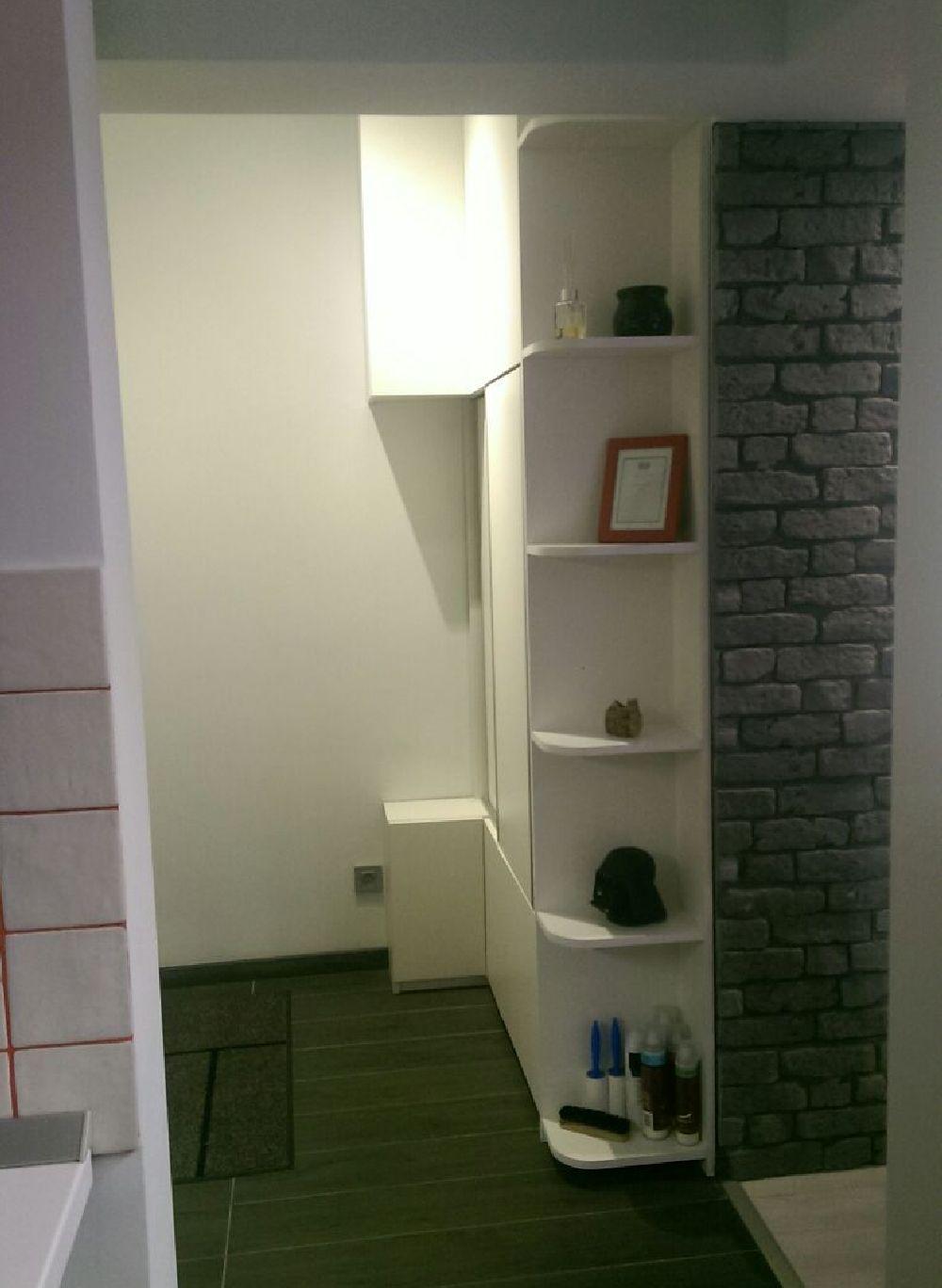 adelaparvu.com despre renovare apartament 2 camere Bucuresti, arh Andreea Besliu (28)
