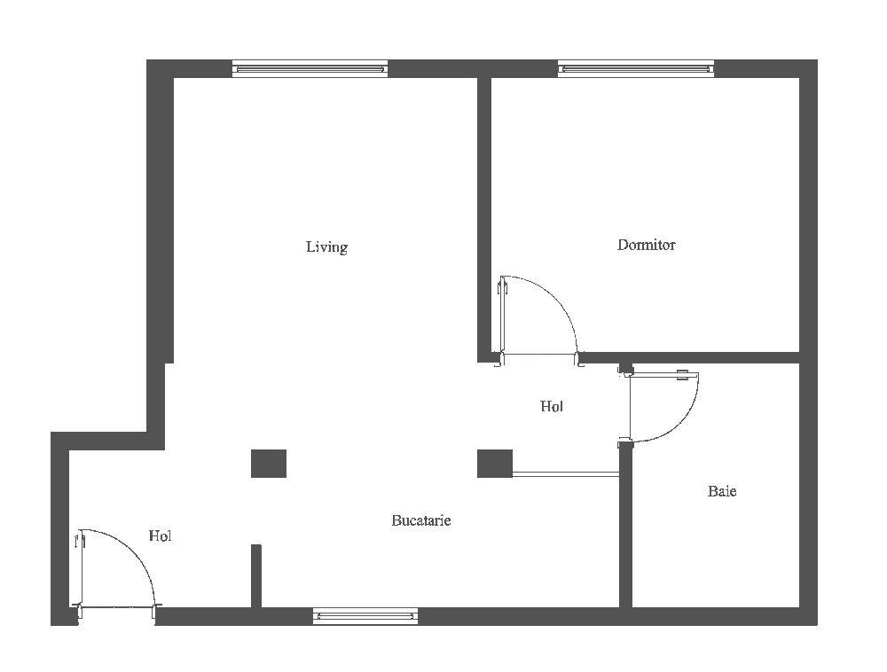 adelaparvu.com despre renovare apartament 2 camere Bucuresti, arh Andreea Besliu (30)