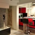 adelaparvu.com despre renovare apartament 2 camere Bucuresti, arh Andreea Besliu (5)