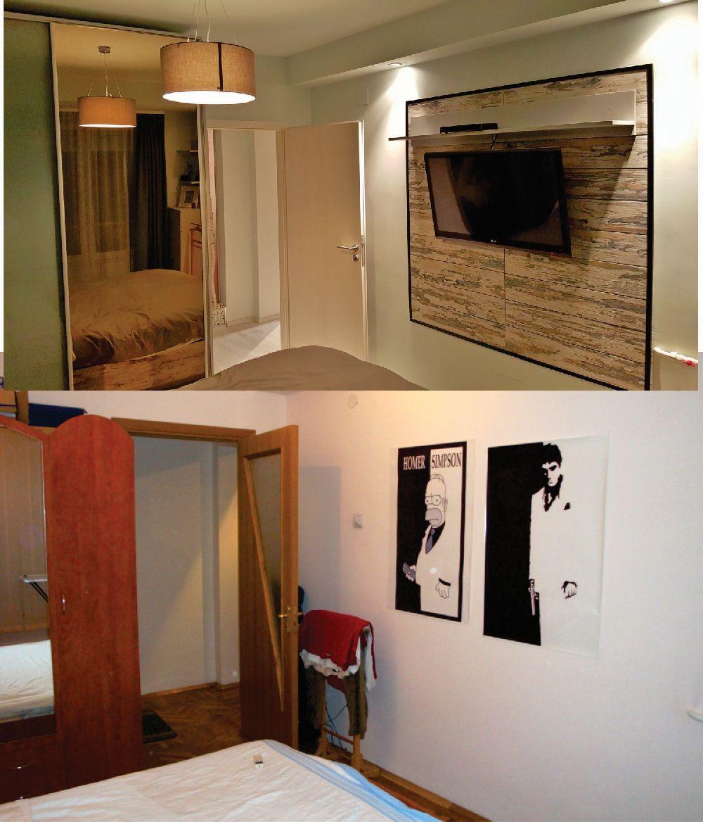 adelaparvu.com despre renovare apartament 2 camere Bucuresti, arh Andreea Besliu (6)