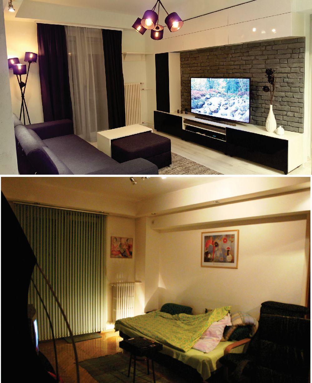 adelaparvu.com despre renovare apartament 2 camere Bucuresti, arh Andreea Besliu (8)