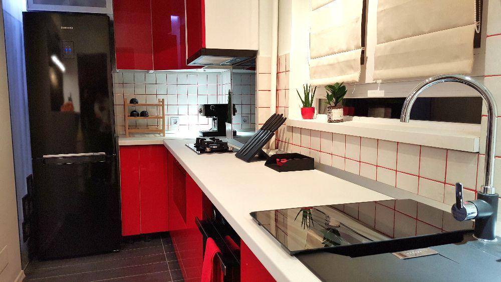 adelaparvu.com despre renovare apartament 2 camere Bucuresti, arh Andreea Besliu (9)