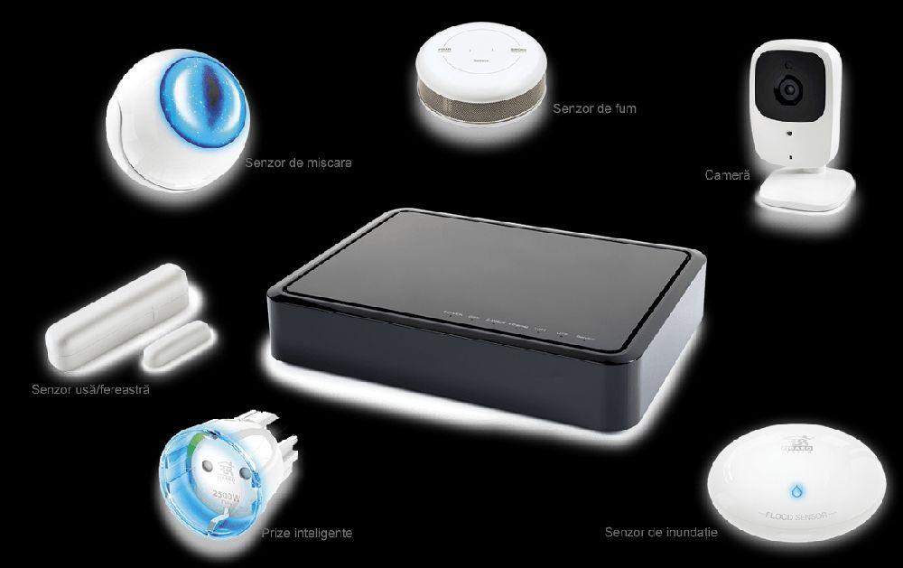 adelaparvu.com despre solutia de monitorizarea a casei prin telefonul mobil Orange Smart Home 4
