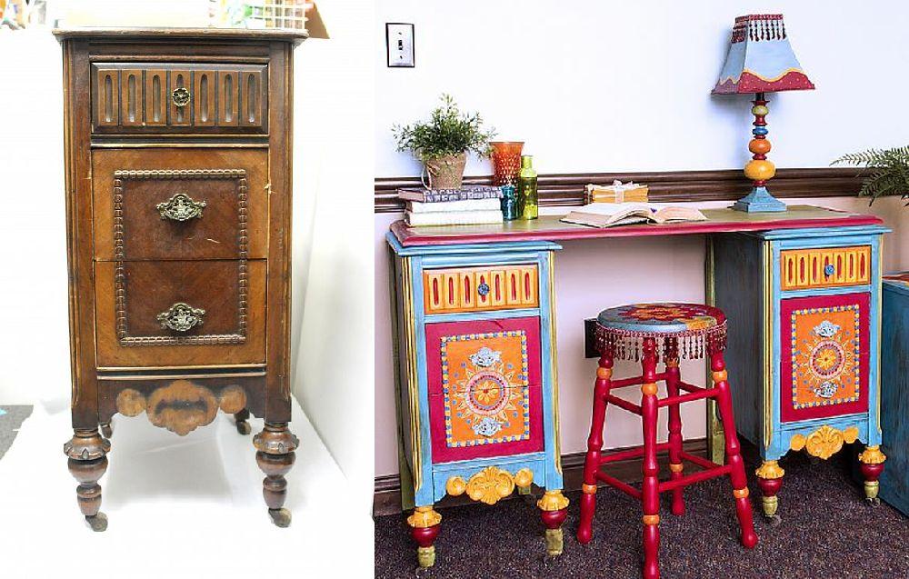 adelaparvu.com vopsea decorativa pentru PAL, lemn, sticla, metal Americana Decor Chalk Paint de la magazinul Culori si Idei (14)