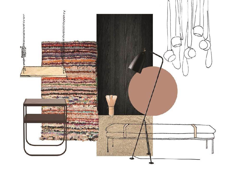 adelaparvu.com despre Interior Design Trends 2016, Stockhom Furniture and Lights Fair mood board