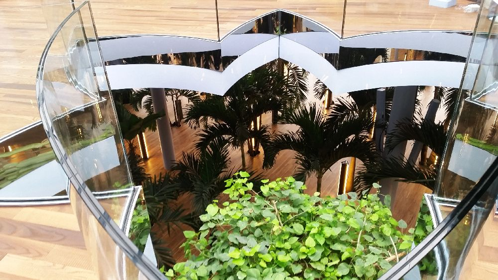 adelaparvu.com despre Therme Bucuresti, zona The Palm (14)