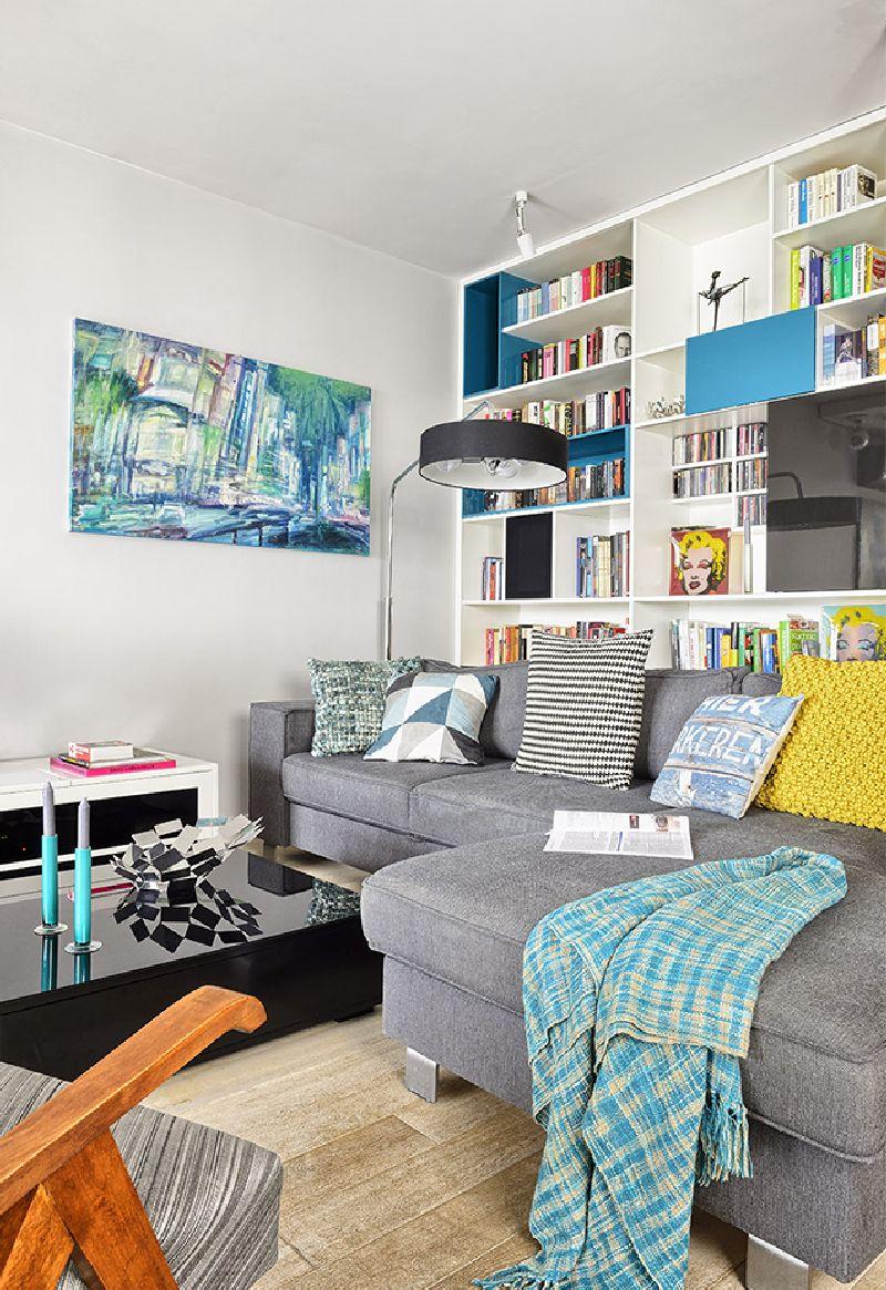 adelaparvu.com despre amenajare apartament 3 camere, 84 mp, Polonia, design interior Wegielek Studio (1)