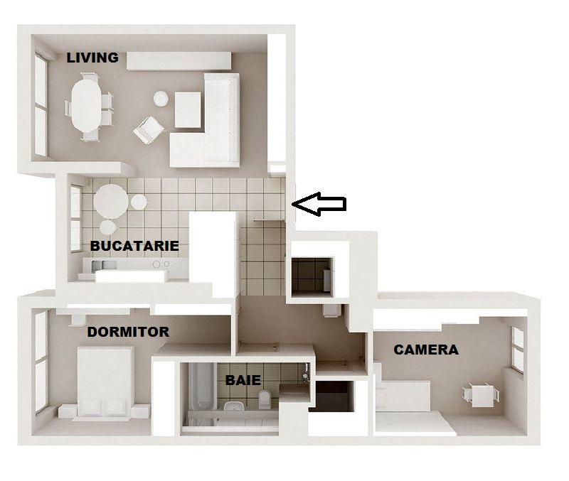 adelaparvu.com despre amenajare apartament 3 camere, 84 mp, Polonia, design interior Wegielek Studio (11)