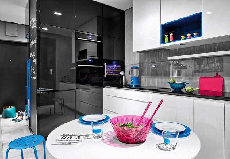 adelaparvu.com despre amenajare apartament 3 camere, 84 mp, Polonia, design interior Wegielek Studio (13)