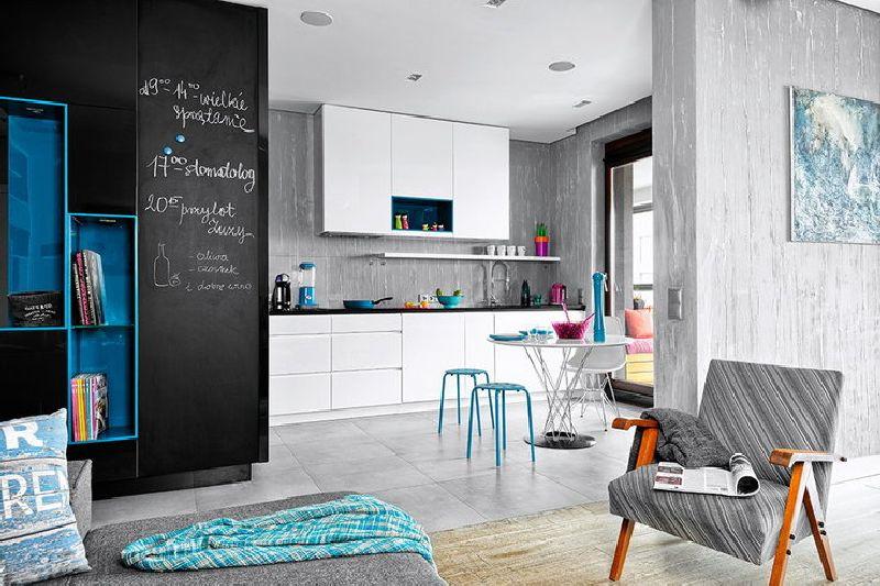 adelaparvu.com despre amenajare apartament 3 camere, 84 mp, Polonia, design interior Wegielek Studio (17)