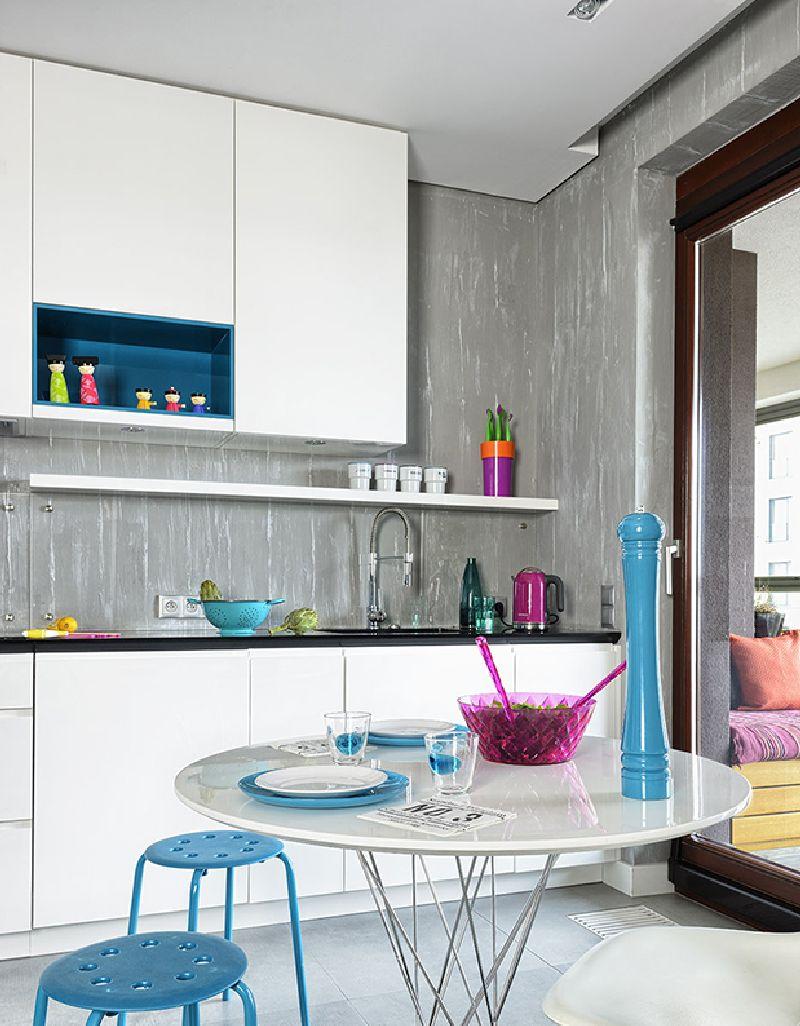 adelaparvu.com despre amenajare apartament 3 camere, 84 mp, Polonia, design interior Wegielek Studio (3)