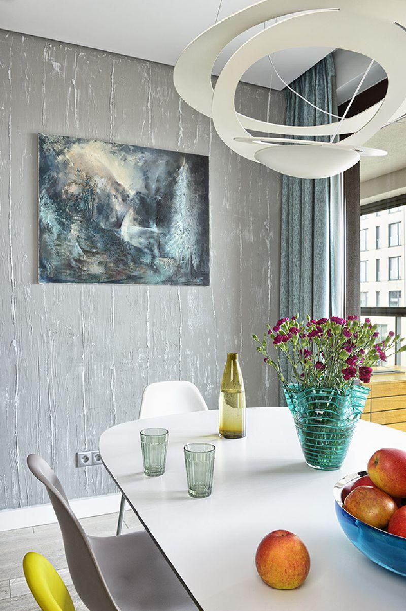 adelaparvu.com despre amenajare apartament 3 camere, 84 mp, Polonia, design interior Wegielek Studio (4)