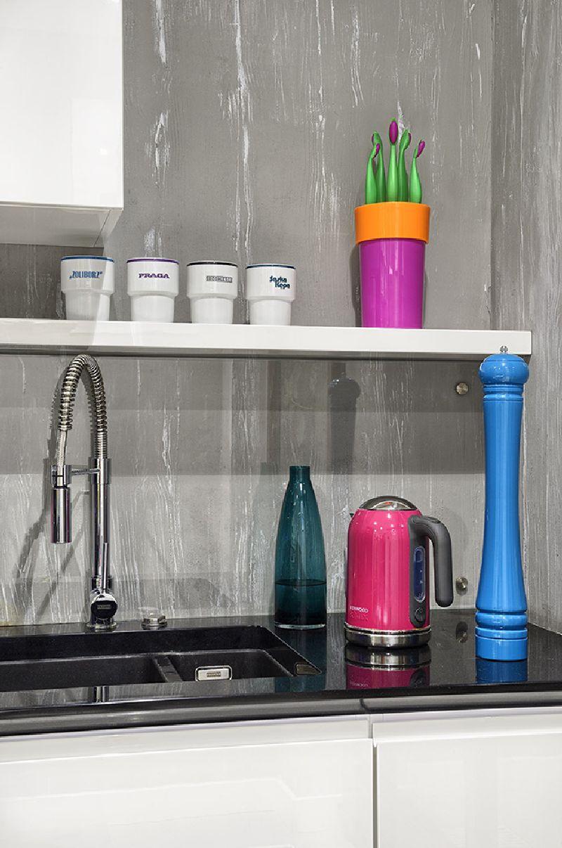 adelaparvu.com despre amenajare apartament 3 camere, 84 mp, Polonia, design interior Wegielek Studio (5)
