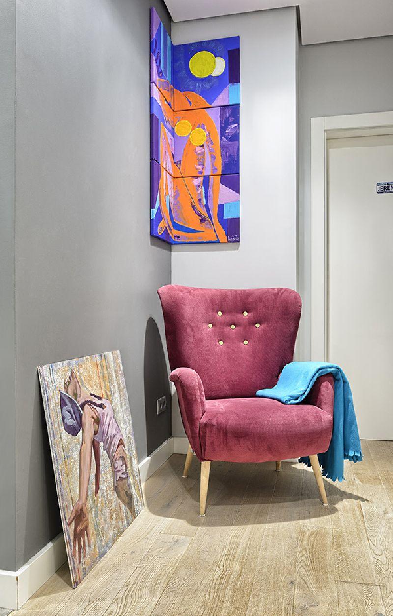 adelaparvu.com despre amenajare apartament 3 camere, 84 mp, Polonia, design interior Wegielek Studio (8)