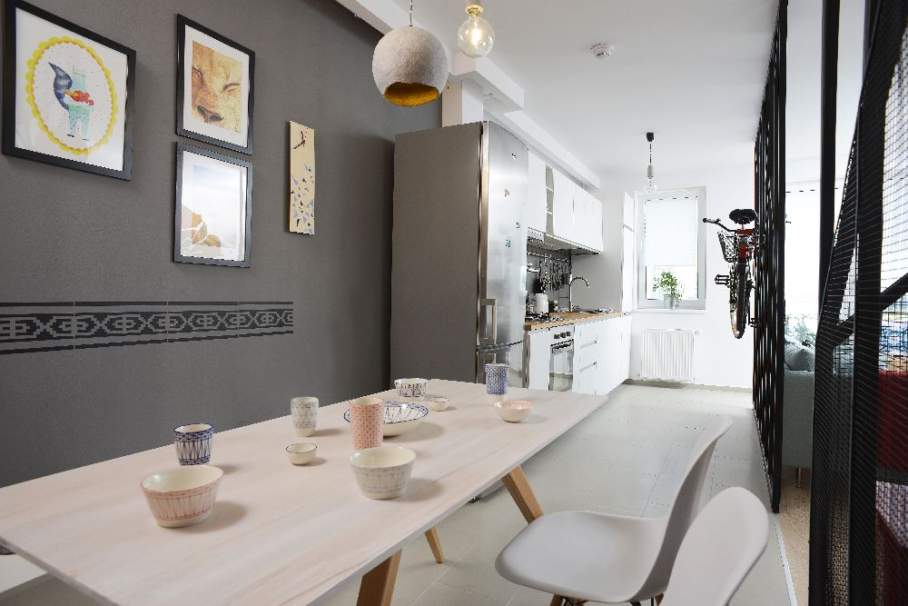 adelaparvu.com despre amenajare apartament 4 camere The Park, designeri Mihnea Ghildus si Marilena Popa (22)