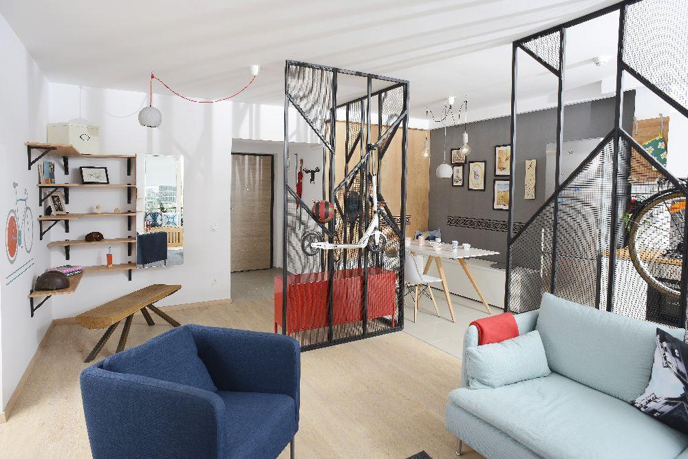 adelaparvu.com despre amenajare apartament 4 camere The Park, designeri Mihnea Ghildus si Marilena Popa (30)