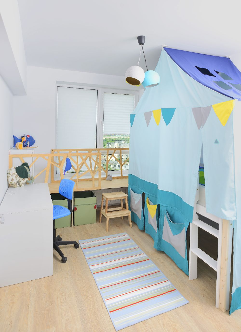 adelaparvu.com despre amenajare apartament 4 camere The Park, designeri Mihnea Ghildus si Marilena Popa (39)