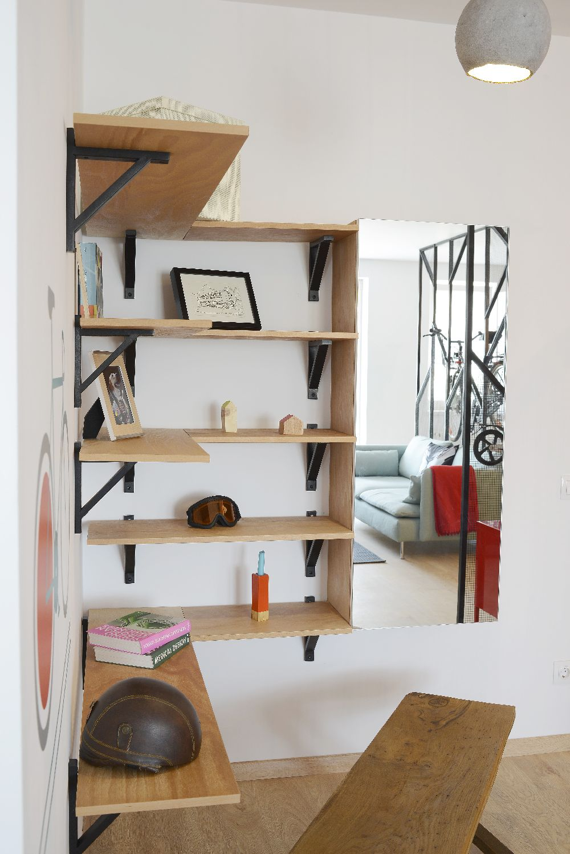 adelaparvu.com despre amenajare apartament 4 camere The Park, designeri Mihnea Ghildus si Marilena Popa (7)