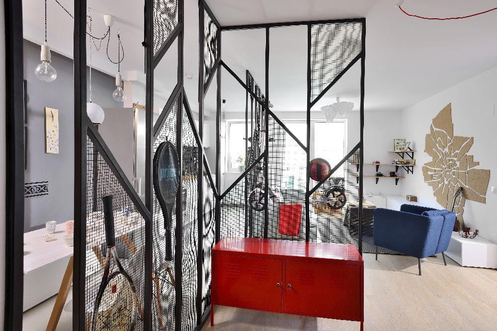 adelaparvu.com despre amenajare apartament 4 camere The Park, designeri Mihnea Ghildus si Marilena Popa (9)