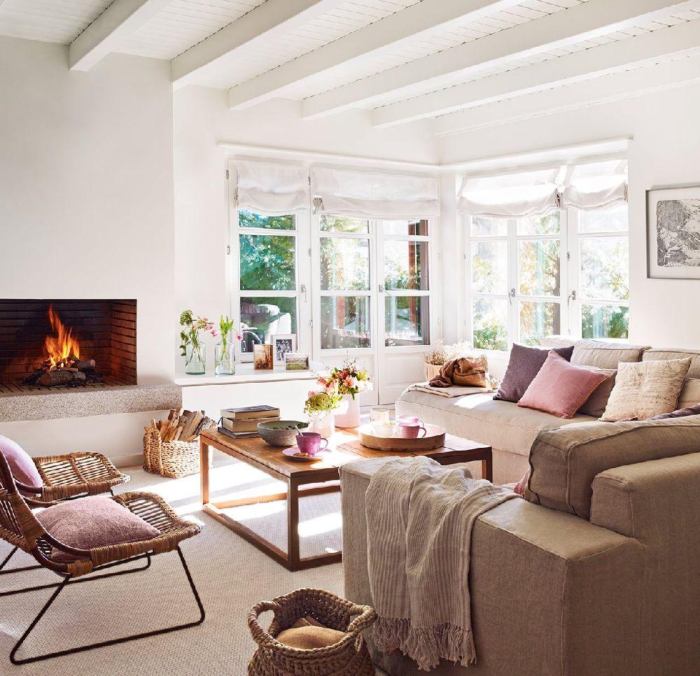 adelaparvu.com despre apartament la munte, designer interior Carolina Juanes, Foto ElMueble (10)