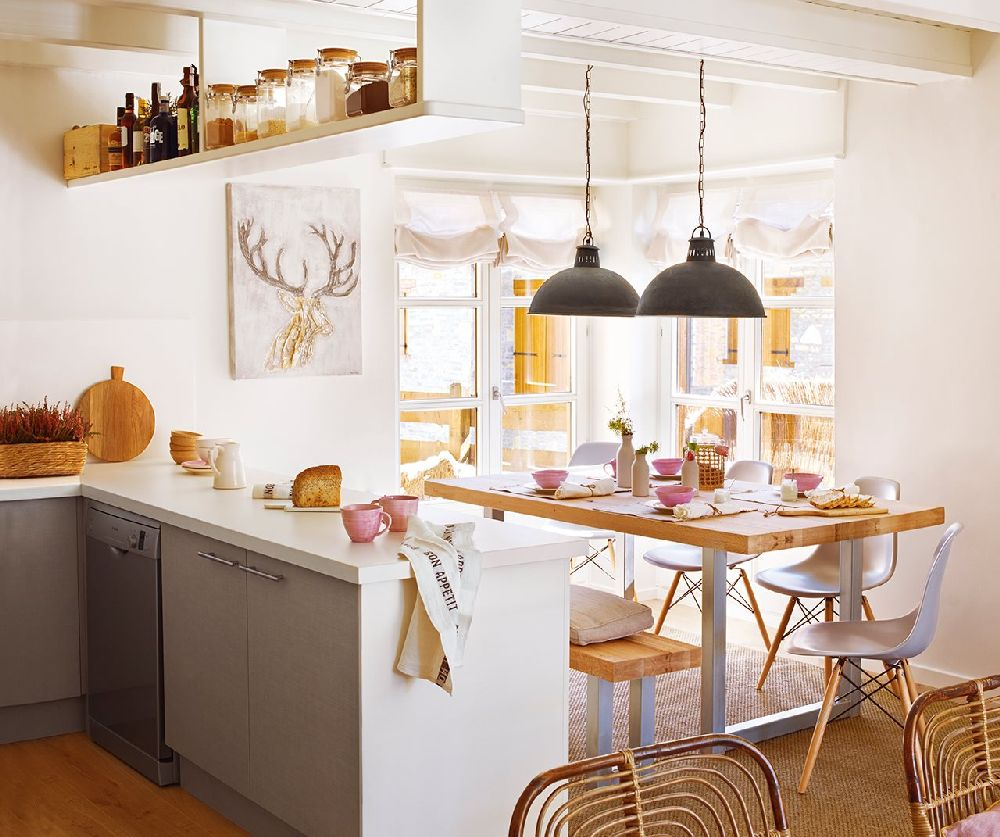 adelaparvu.com despre apartament la munte, designer interior Carolina Juanes, Foto ElMueble (4)