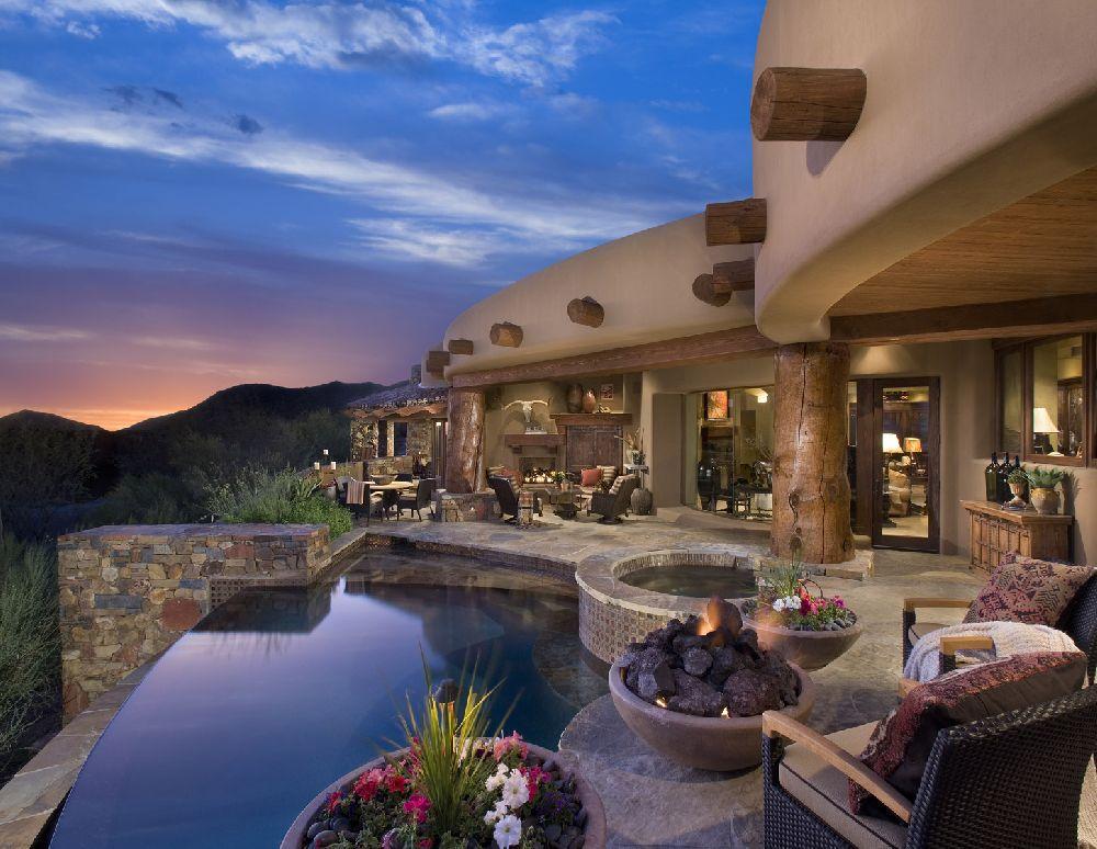 adelaparvu.com despre bucatarie in casa cu arhitectura organica, arhitect Lee Hutchison, Urban Design Associates (2)
