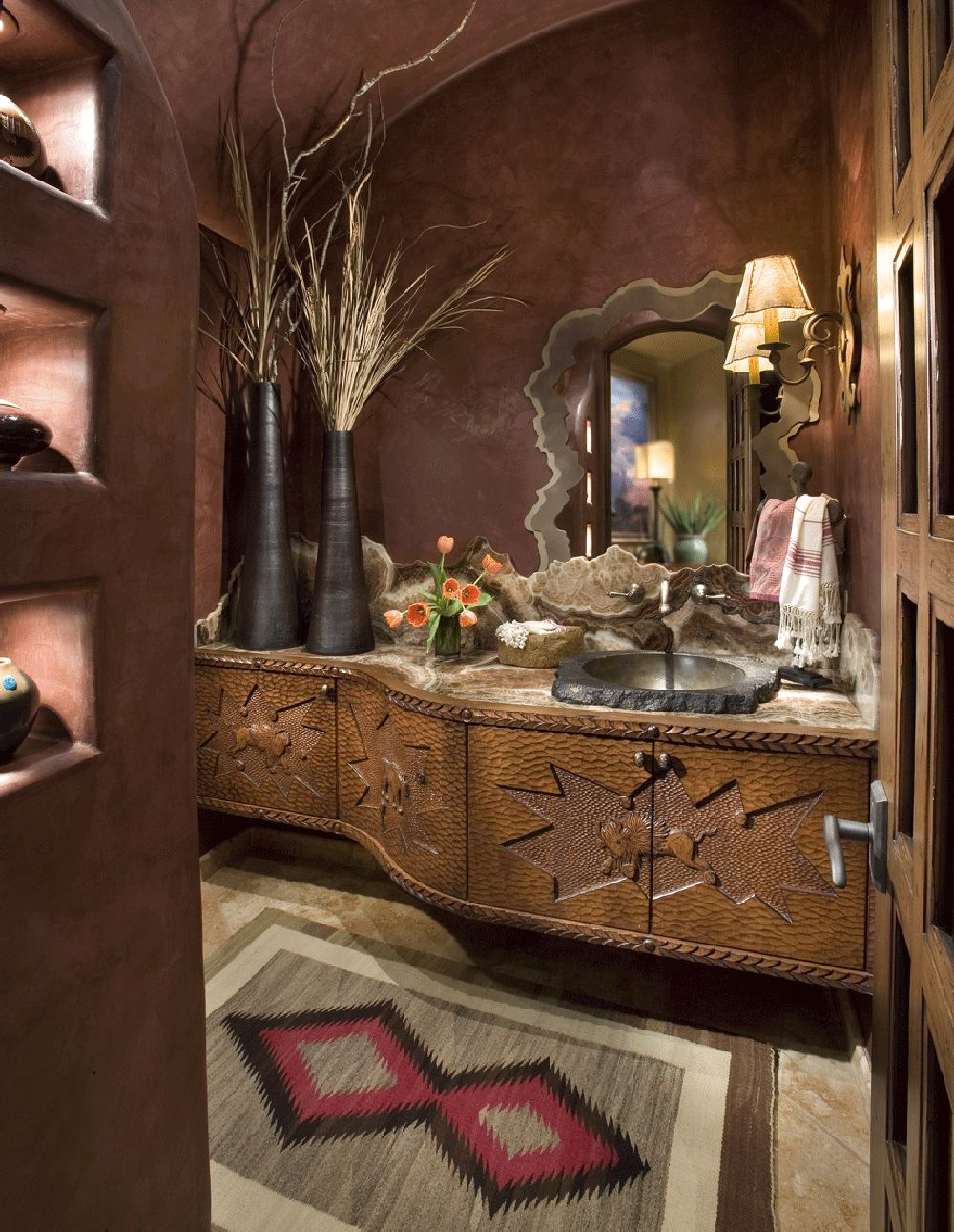 adelaparvu.com despre bucatarie in casa cu arhitectura organica, arhitect Lee Hutchison, Urban Design Associates (4)