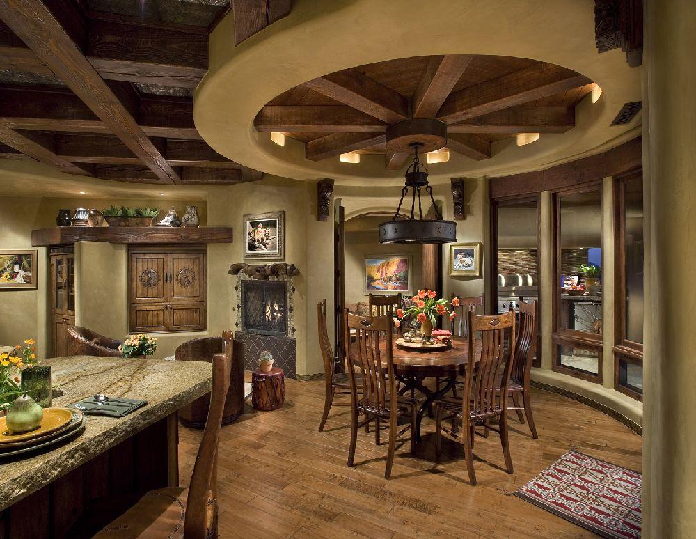 adelaparvu.com despre bucatarie in casa cu arhitectura organica, arhitect Lee Hutchison, Urban Design Associates (6)
