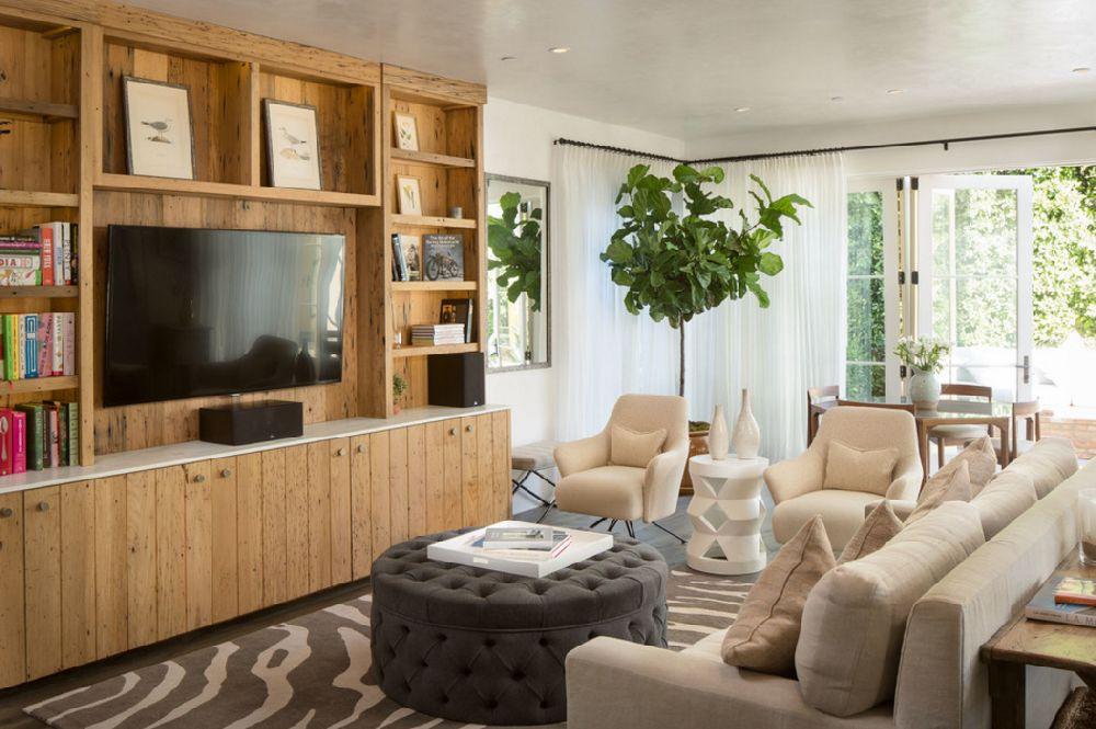 adelaparvu.com despre casa cu interior rustic combinat cu actual, Los Angeles, Foto Michael Kelley (1)