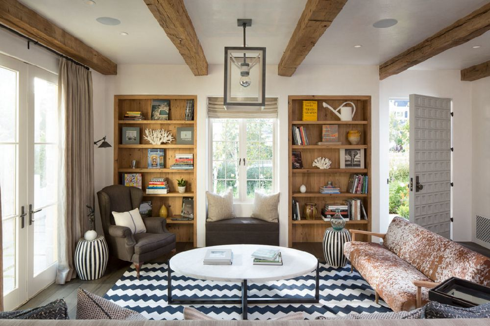 adelaparvu.com despre casa cu interior rustic combinat cu actual, Los Angeles, Foto Michael Kelley  (10)