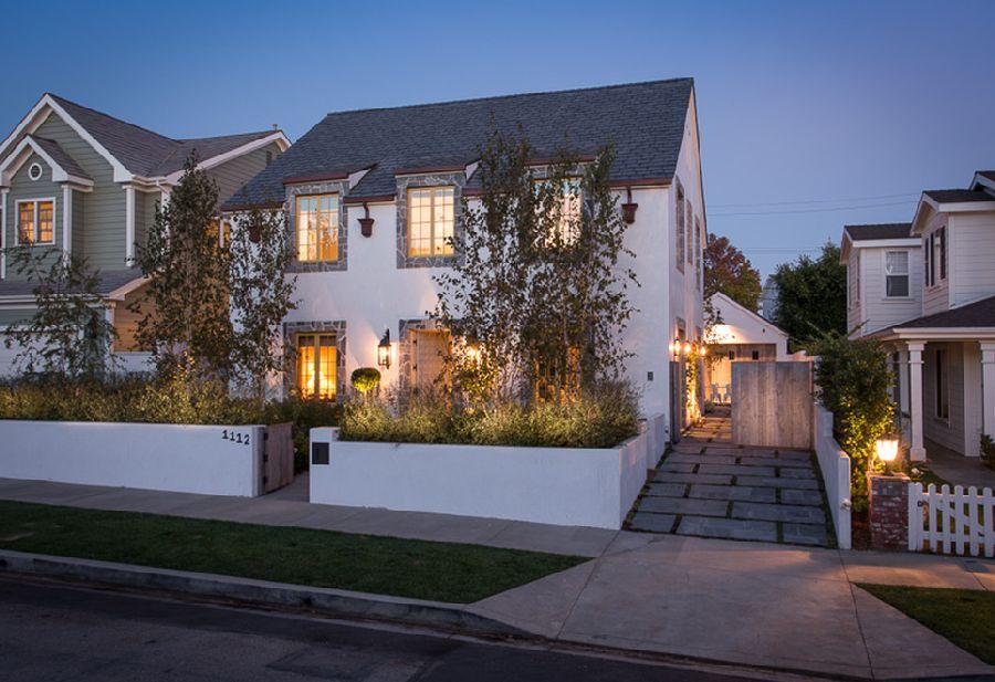 adelaparvu.com despre casa cu interior rustic combinat cu actual, Los Angeles, Foto Michael Kelley (2)