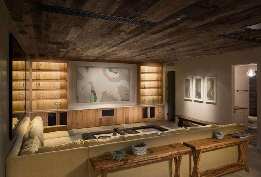 adelaparvu.com despre casa cu interior rustic combinat cu actual, Los Angeles, Foto Michael Kelley (3)